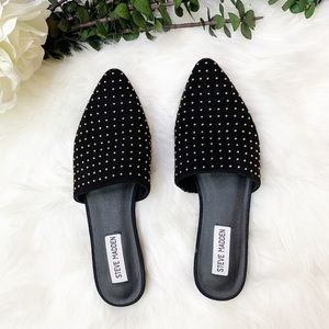 NWT | Steve Madden | Trace Studded Mules